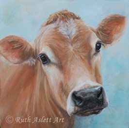 Meg In 2020 Cow Paintings On Canvas Animal Paintings Cow Art