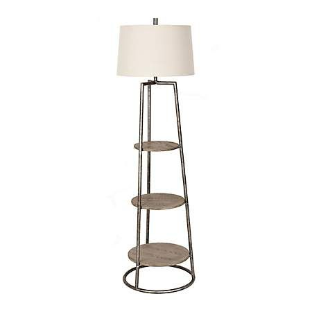 3 Tier Shelf Floor Lamp