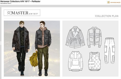 Menswear Designed and direction by : Volker Ketteniss Layout and technical drawings by WGSN menswear team WGSN menswear Illustrations by Men...