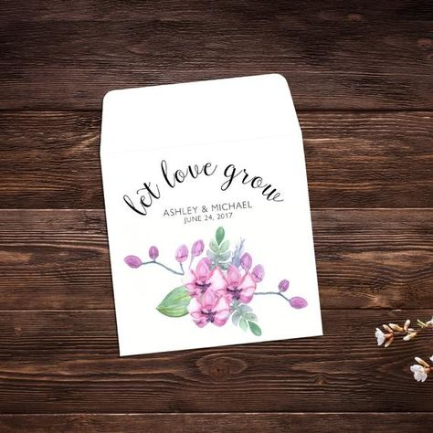 Wedding Seed Packets, 25 Wedding Favors, Let #weddings #seedpackets #seedfavors #weddingfavors #weddingseedfavor #weddingseedpackets #seedpacket #weddingfavor #seedfavor #seedpacketenvelope #seedpacketfavor #summerwedding #springwedding #wildflowerseeds