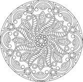 Kid S Yoga Sun Salutation Detailed Coloring Pages Mandala