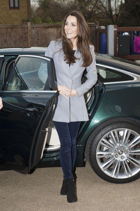 Kate Middleton's sleek Reiss coat