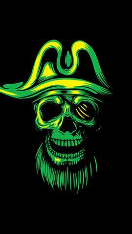 Pirate Skull Hd Skull Wallpapers Skull Wallpaper Skull Wallpaper Iphone