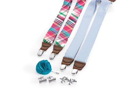 Men's Accessories can make a fun gift for him #mensfashion #suspenders #Belk