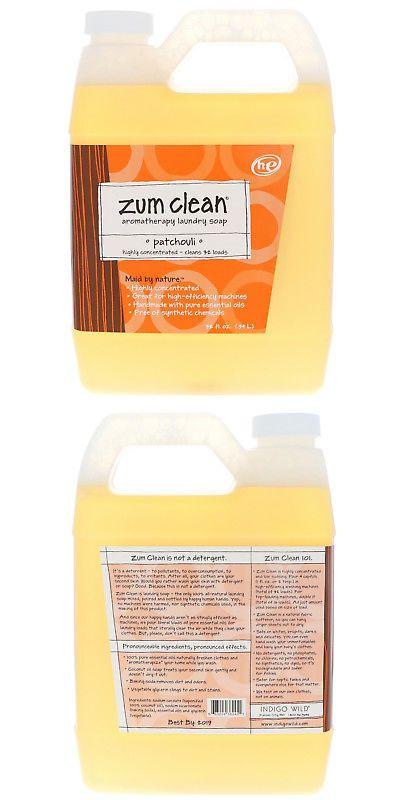Detergents 78691 Indigo Wild Zum Clean Aromatherapy Laundry Soap