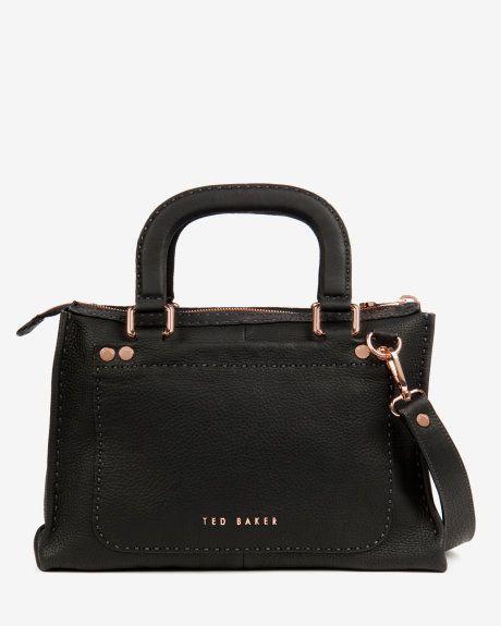 Hickory Stab stitch bag - Black (£229 / ~