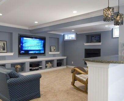 جبس جدران 2018 ديكورات جبس بورد حوائط ميكساتك Bathroom Design Layout Family Room Design Basement Design