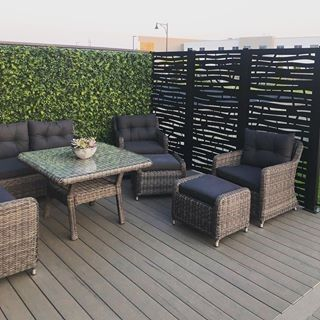 Private Patio Outdoor Deck Furniture Patio Furniture Sets Privacy Screen Outdoor