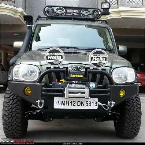 Interesting Modified Scorpio Getaway For Gul Panag With Images
