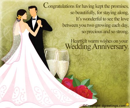 Make someone s anniversary memorable by sending a warm wish