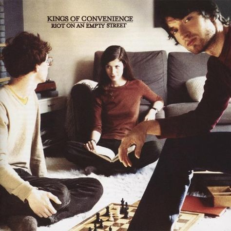 KINGS OF CONVENIENCE - Riot On An Empty Street (Brown)
