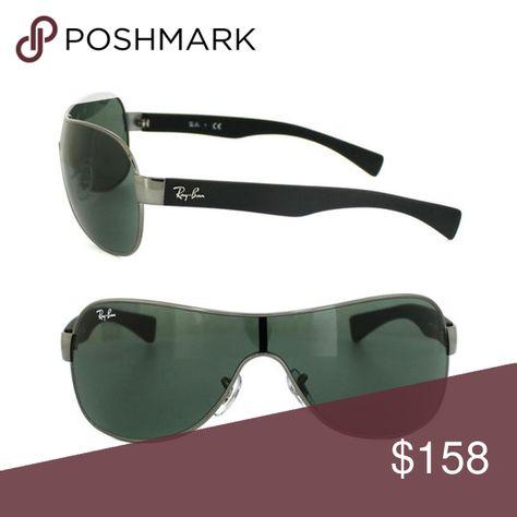 dda935d09e New Ray-BanUnixex High street RB3471-004 71-32 New Ray-BanUnixex High  street RB3471-004 71-32 Gunmetal Shield Sunglasses Ray-Ban Accessories  Sunglasses