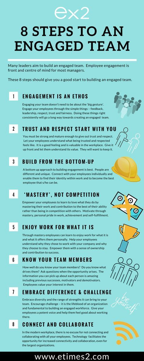 8 simple steps to successfully build an engaged workforce