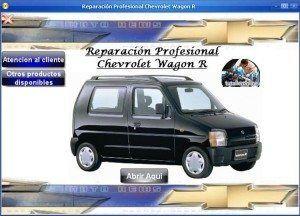 Manual De Taller Y Reparacion Chevrolet Wagon R 1998 2004