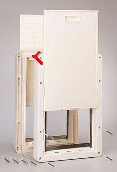 Ideal Pet Doors Ruff Weather Door Super Large Rwsl Pet Doors Dog Door Dog Door Installation