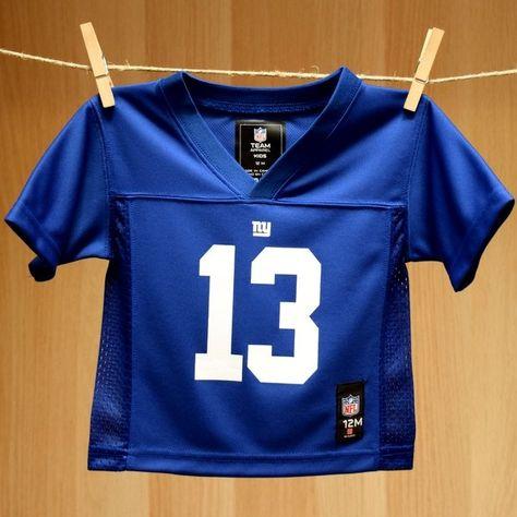 huge selection of 2d7c7 d4eac New York Giants Odell Beckham Jr. Toddler Football Jersey ...