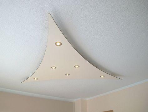 Deckensegel Lisego Wind Indirekte Beleuchtung Wohnzimmer Beleuchtung Wohnzimmer Led Beleuchtung