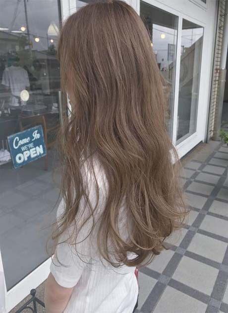 Low Maintenance Korean Hair Color 2020 Monica Gallery In 2020 Ash Hair Color Korean Hair Color Light Hair Color