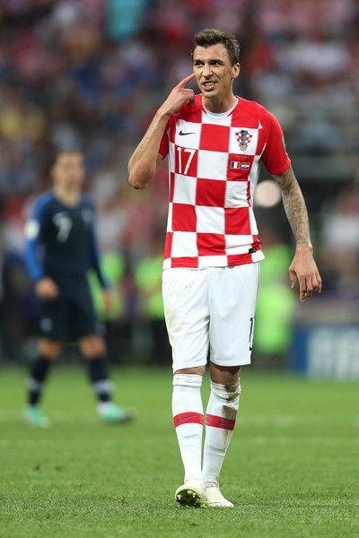 Mario Mandzukic Photos Photos France V Croatia 2018 Fifa World Cup Russia Final Mario Mandzukic Fifa World Cup Mario