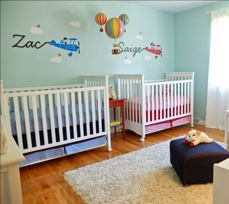 Shopdisney Boy Girl Twins Nursery Nursery Twins Twin Baby Rooms