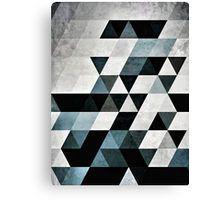 Dark geometric triangle pattern with a grunge texture.