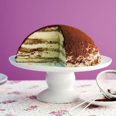 Tiramisu-Kuppel-Torte Rezept | Küchengötter