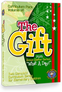 "Perfect for the Christmas season! Curriculum Pack Vol. 14: ""THE GIFT"" & ""WHAT A DAY"""