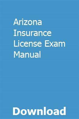 Arizona Insurance License Exam Manual Insurance License Exam State Insurance