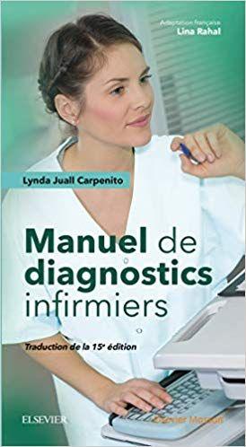 Manuel De Diagnostics Infirmiers 15º Edition Lynda Juall
