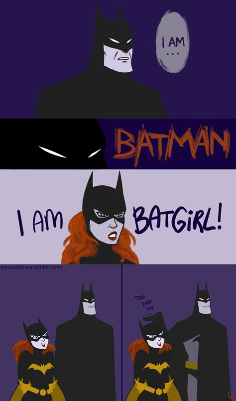 Geek Discover She Learned From The BestYou can find Batman robin and more on our website.She Learned From The Best Batgirl Nightwing Catwoman Arte Dc Comics Fun Comics Marvel Comics Dc Comics Funny Batman Meme I Am Batman Batman Meme, Batman And Batgirl, I Am Batman, Batman Art, Batman Robin, Gotham Batman, Batman Stuff, Marvel Dc Comics, Marvel Fanart