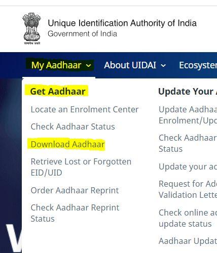Download Aadhar Aadhar Card Card Downloads Technology Posts