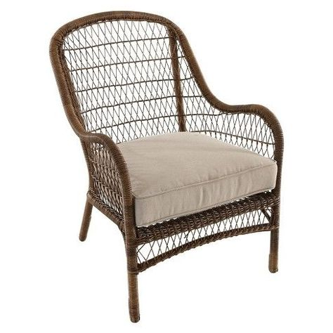 Remarkable Garden Treasures Valleydale Woven Stackable Metal Stationary Pdpeps Interior Chair Design Pdpepsorg