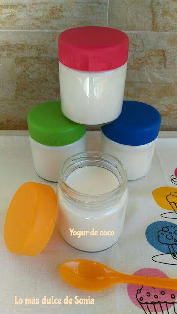Yogur De Coco En Yogurtera Yogur De Coco Yogur Yogurtera