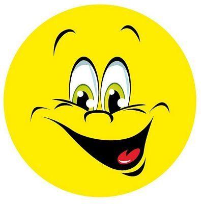 Emoji Smiley Grins Autoaufkleber Scheiben Tuningsticker Stickerklinik