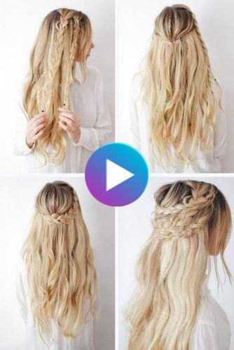 If You Are Tired Of The Same Old Hairstyles You Should Look Through Hair Tutorials These Collections Can Offer S In 2020 Braided Hairstyles Tutorials Long Hair Styles
