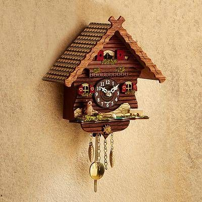 Owl Mini Cuckoo Clock Owl S Cottage Clock Owl Clock Owl