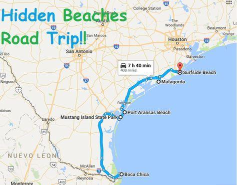 The Hidden Beaches Road Trip That Will Show You Texas Like Never Before Beach Road Trip Road Trip Texas Beach Vacation