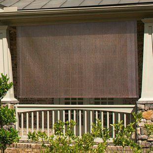Coolaroo Outdoor Roller Shade Wayfair Outdoor Sun Shade Solar Shades Outdoor Remodel