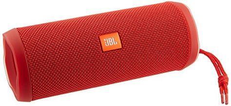 JBL Flip 4 Waterproof Portable Bluetooth Speaker (Red) JBL