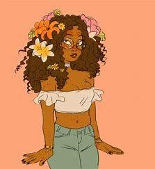 Image Result For Black Art Curvy Girl Tumblr Desenhos Afro