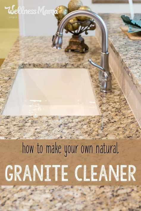 Granite Cleaner For Naturally Clean Countertops Caring