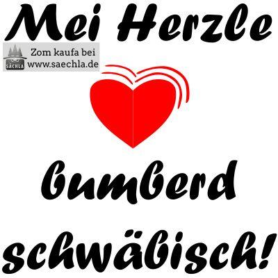 I ben hald an Schwob mit Leib ond Seel #schwäbisch #schwaben #ländle #lustig #humor #geschenk