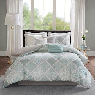 Madison Park Karyna Cotton Sateen Comforter Set Comforter Sets