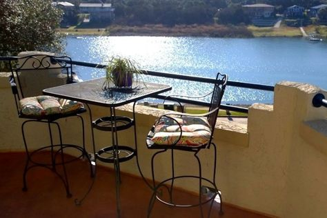 Casita on the Cove, Lago Vista on Lake Travis $115/night on Airbnb - Get $25 credit with Airbnb if you sign up with this link http://www.airbnb.com/c/groberts22