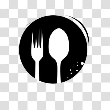 Spoon And Fork Icon Isolated Fork Icons Spoon Icons Spoon Png And Vector With Transparent Background For Free Download Social Media Icons Vector Logo Restaurant Black And White Cartoon