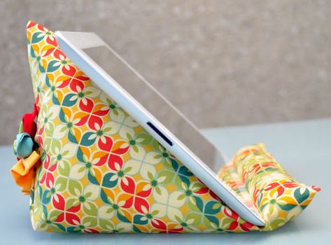 DIY iPad stand - great for the kiddos!
