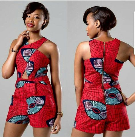 Perfect Ankara Short for the Weekend