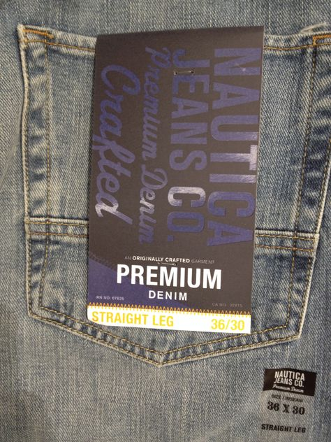 Nautica Jeans - Denim Pocketflasher