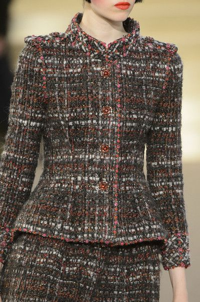 Chanel Fall 2015 Runway Pictures - Chanel Cardigan - Ideas of Chanel Cardigan - Chanel at Couture Fall 2015 Details Runway Photos