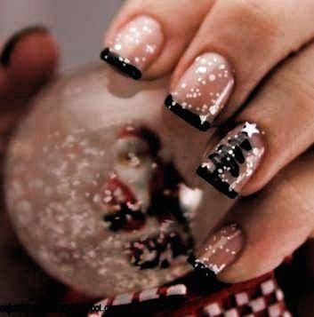 : Nails French Tip Christmas Sparkle 58+ Ideas For 2019 xmasnails : Nails French Tip Christmas Sparkle 58+ Ideas For 2019 xmasnails   holiday nails winter sparkle french tips   holiday nails winter new years #getnails #fancynails #lovenails #howtodonails #snownails #christmasmanicure #snowglo #getnails #fancynails #lovenails #howtodonails #snownails #christmasmanicure #snowglobenails #trendynails #Nails #French #Christmas
